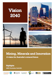 Highlights of Vision 2040 released for AMEC 2011